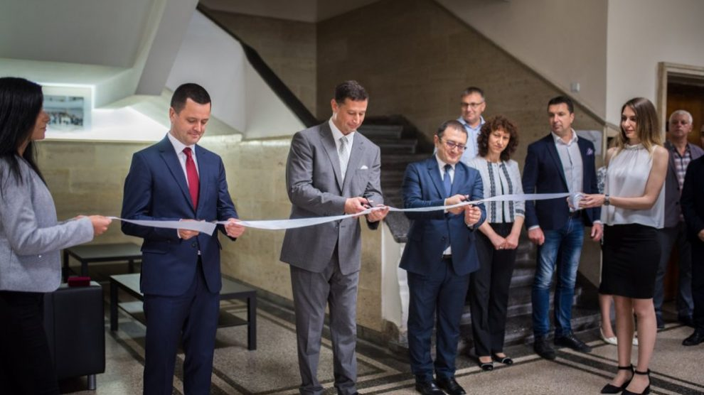 A learning corner of ICPA was opened in the University of Economics – Varna